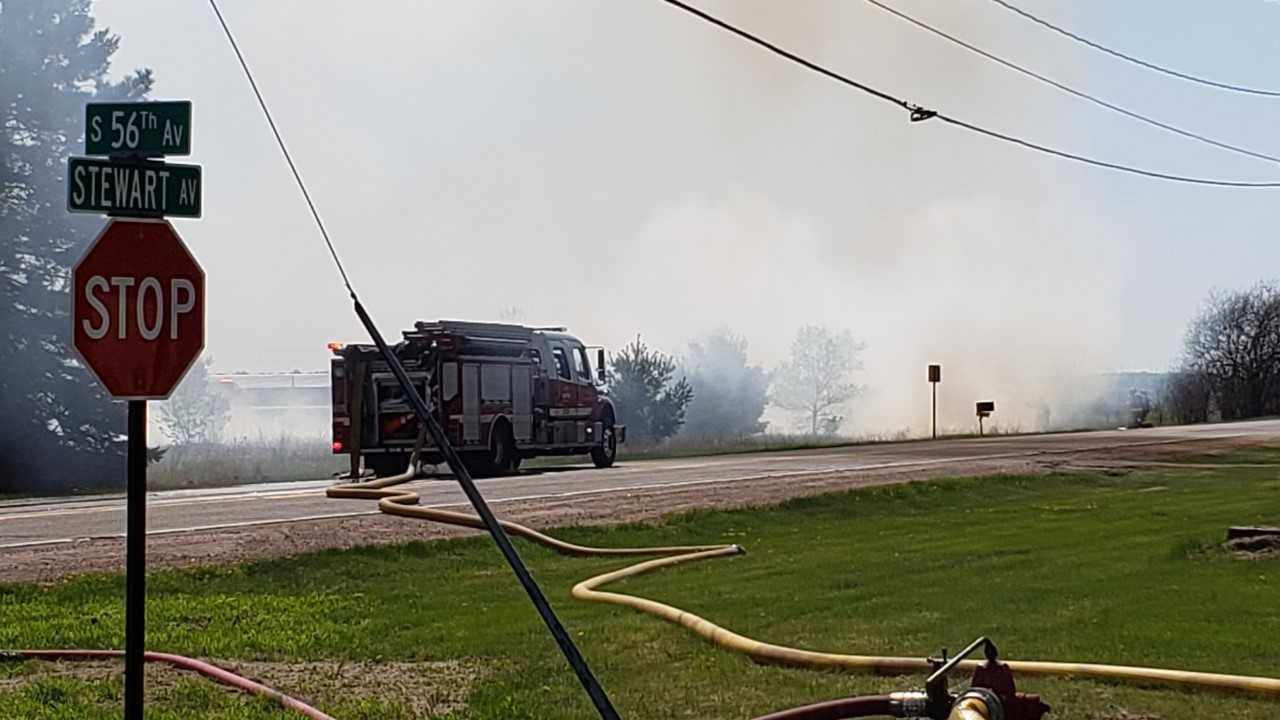update  brush fire out on wausau u0026 39 s west side