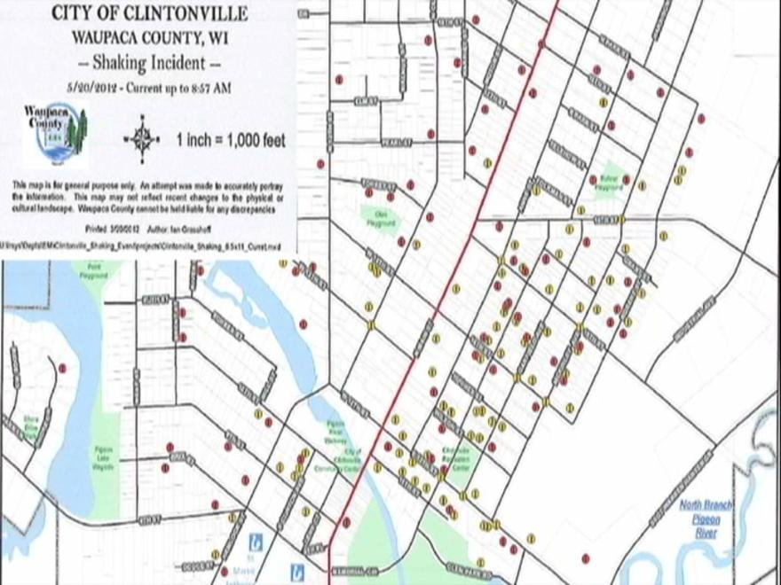 Mysterious activity continues in CLINTONVILLE - WAOW - Newsline 9 ...