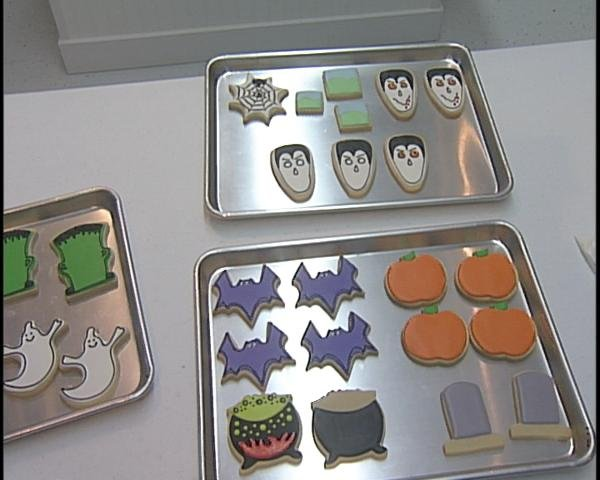 Lowe works with over 500 cookie cutters.