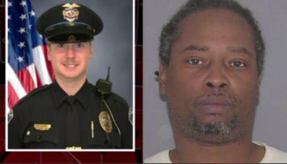 Officer Tensing (left), DeBose (right)