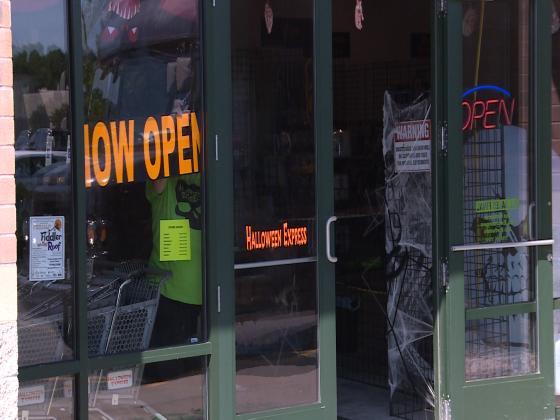 halloween express opens in rib mountain waow newsline 9 wausau